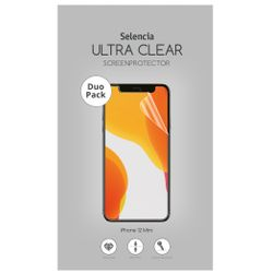 Selencia Duo Pack Ultra Clear Screenprotector iPhone 12 5.4 inch - Screenprotector