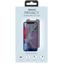 Selencia Gehard Glas Privacy Screenprotector iPhone 12 6.7 inch - Screenprotector