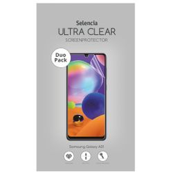 Selencia Duo Pack Ultra Clear Screenprotector Samsung Galaxy A31 - Screenprotector