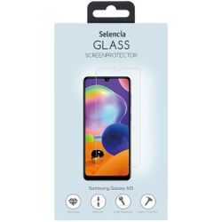 Selencia Gehard Glas Screenprotector Samsung Galaxy A31 - Screenprotector