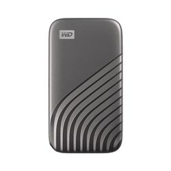 Western Digital My Passport 2000 GB Grijs