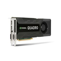 HP C2J95AA, Quadro K5000, 4 GB, GDDR5, 256 Bit, 2560 x 1600 Pixels, PCI Express 2.0 (Als nieuw)