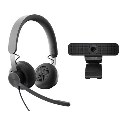 Logitech Personal Collaboration kit - Zone Wired & C925e - UC
