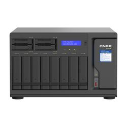 QNAP TVS-h1288X NAS Tower Ethernet LAN Zwart