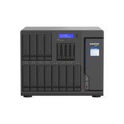 QNAP TVS-h1688X NAS Tower Ethernet LAN Zwart