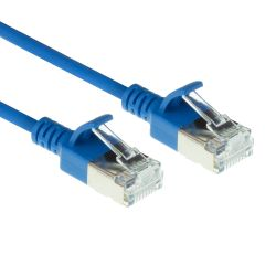 ACT DC7601 netwerkkabel Blauw 1 m Cat6a U/FTP (STP)