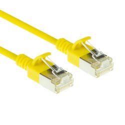 ACT DC7801 netwerkkabel Geel 1 m Cat6a U/FTP (STP)