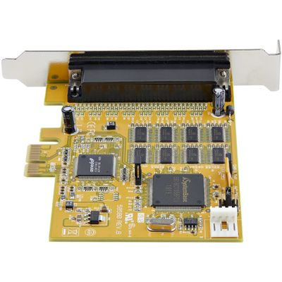 StarTech.com 8-Port PCI Express RS232 Serial Adapter Card - PCIe RS232 Seriële Kaart - 16C1050 UART Expansion Serieel - Multipor