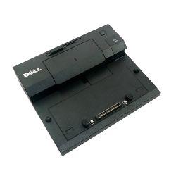 Origin Storage DELL E SERIES PORT REPLICATOR SIMPLE USB3 W/130W AC + EU CABLE Docking E-Port Zwart