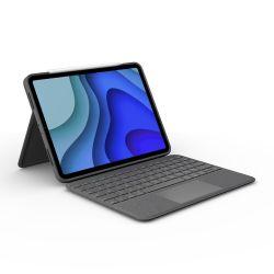 Logitech Folio Touch Grijs Smart Connector QWERTZ Zwitsers