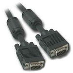 C2G 7m Monitor HD15 M/M cable VGA kabel VGA (D-Sub) Zwart