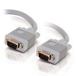 C2G 15m Monitor HD15 M/M cable VGA kabel VGA (D-Sub) Grijs