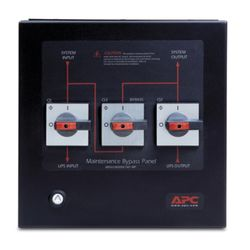 APC Smart-UPS VT Maintenance Bypass Panel Zwart power supply