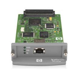 HP Jetdirect 635n print server Intern Groen, Grijs Ethernet LAN