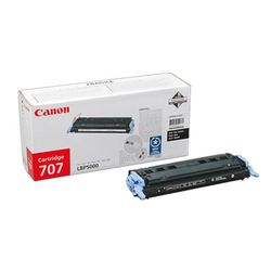 Canon 707 Black Toner Cartridge 2500pagina's Zwart