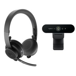 Logitech Pro Personal Video Collaboration video conferencing systeem 1 persoon/personen Gepersonaliseerde videovergaderingssyste