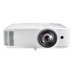 Optoma W309ST beamer/projector Desktopprojector 3800 ANSI lumens DLP WXGA (1280x800) 3D Wit