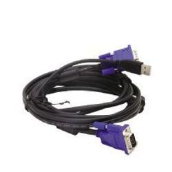 D-Link DKVM-CU 1.8m Zwart toetsenbord-video-muis (kvm) kabel