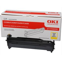 OKI 43460205 15000pagina's Geel printer drum