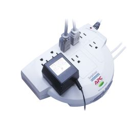 APC SurgeArrest, 8 outlet Beige 8 AC-uitgang(en) 120 V