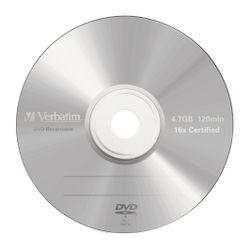 Verbatim DVD-R Matt Silver 4.7GB DVD-R AZO 5stuk(s)