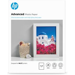 HP Advanced Photo Paper, glanzend, 25 vel, 13 x 18 cm