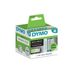 DYMO LW - Kleine LAF-labels - 38 x 190 mm - S0722470