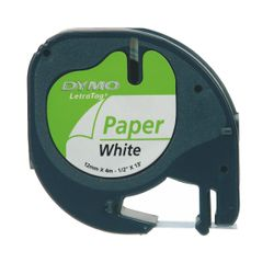 DYMO S0721510 labelprinter-tape Zwart op wit