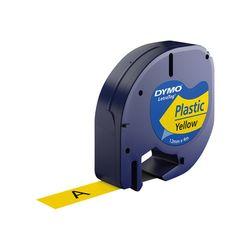 DYMO S0721620 labelprinter-tape Zwart op geel