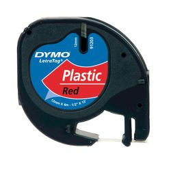 DYMO S0721630 Zwart op rood labelprinter-tape