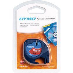 DYMO S0721630 labelprinter-tape Zwart op rood
