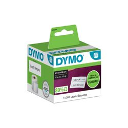 DYMO LW - Klein naambadgelabel - 41 x 89 mm - S0722560