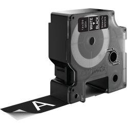 DYMO S0721010 Wit op zwart labelprinter-tape