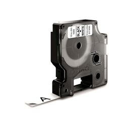 DYMO S0718060 Zwart op wit D1 labelprinter-tape