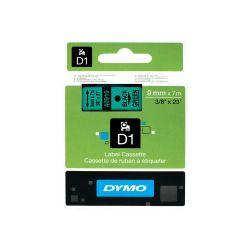 DYMO S0720740 labelprinter-tape Zwart op groen