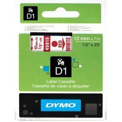 DYMO S0720550 labelprinter-tape Rood op wit