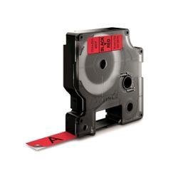 DYMO S0720570 Zwart op rood labelprinter-tape