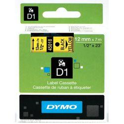 DYMO S0720580 labelprinter-tape Zwart op geel