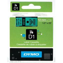 DYMO S0720590 labelprinter-tape Zwart op groen