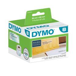 DYMO S0722410 Transparant Zelfklevend printerlabel printeretiket