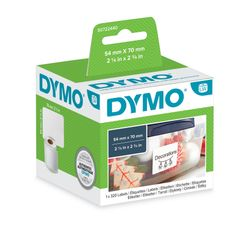 DYMO Labels/Diskette 54mmx70mm White