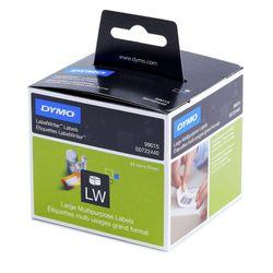DYMO Large Multipurpose Labels etiket Zwart, Wit 320 stuk(s)