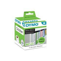 DYMO S0722480 Wit Zelfklevend printerlabel printeretiket