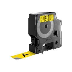 DYMO S0720880 labelprinter-tape Zwart op geel