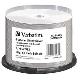 Verbatim 43582 CD-R 700MB 50stuk(s) lege cd