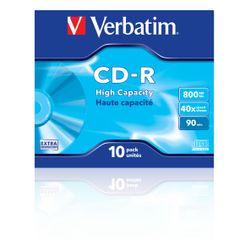 Verbatim CD-R High Capacity CD-R 800MB 10stuk(s)