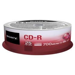 Sony 25CDQ80SP lege cd