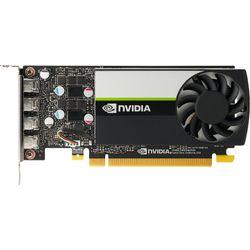 HP NVIDIA T1000 4GB 4mDP GFXw/2 mDPtoDPAdpt