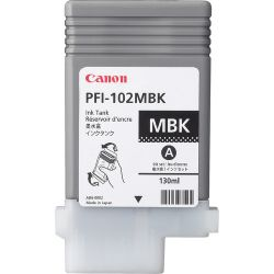 Canon PFI-102MBK 130ml Mat Zwart