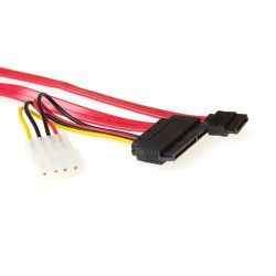 Intronics Ak3398 hq s-ata combi kabel 0.75m. 1 stk